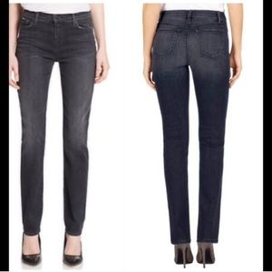 J Brand Maria Straight Anthracite Jeans